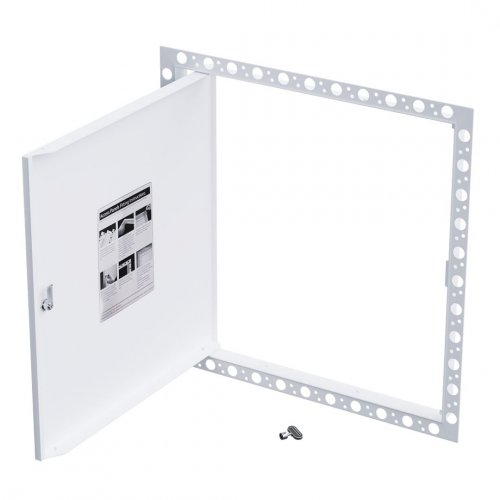 Budget Access Panel - Beaded Frame - Open
