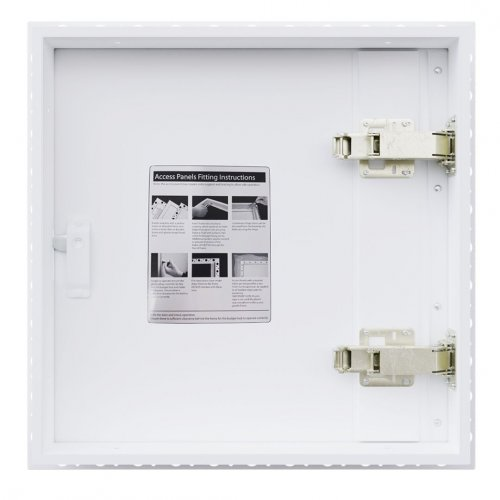 2hr Fire Rated Plasterboard Access Panel with Beaded Frame - Back