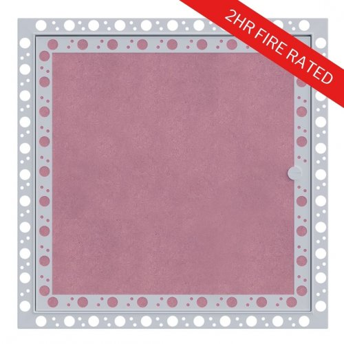 2hr Fire Rated Plasterboard Access Panel with Beaded Frame - Front