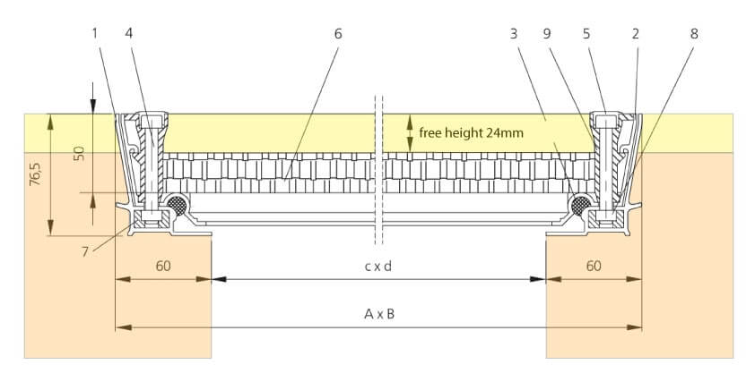 Section-Drawing-SCLA-Aluminium