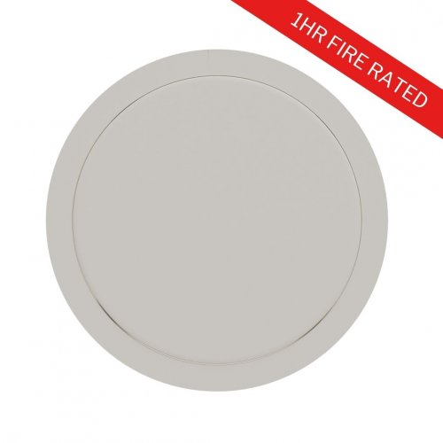 1hr Fire Rated Circular Access Panel - Metal Door with Picture Frame - FlipFix Access Panel 2