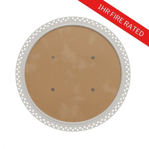 1hr Fire Rated Circular Plasterboard Access Panel with Beaded Frame - FlipFix Access Panel 2